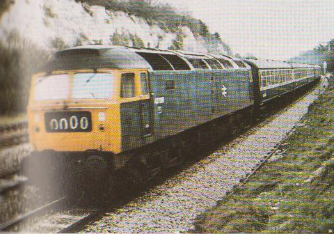 Br Class 47 Edge Hill Station