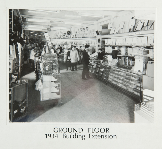 Ground floor 1934 building extension 2