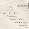 Letter from Vivienne Lord to Mr. Russell Davies Envelope