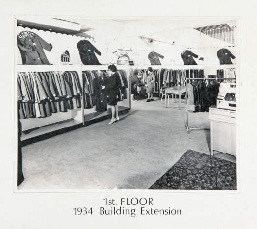 1st Floor 1934 Building Extension