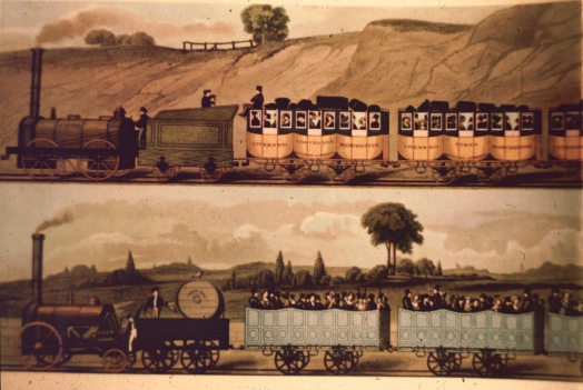 Travelling on the Liverpool and Manchester Railway V