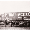 Fred Wallace's coal wagon at Edge Hill