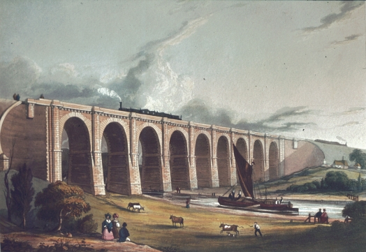 Viaduct across the Sankey Viaduct II