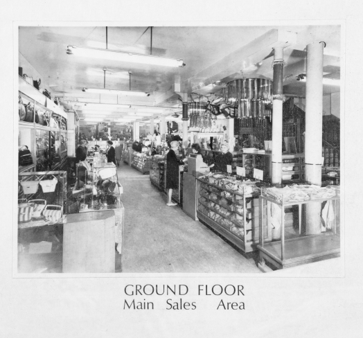 Ground floor main sales area