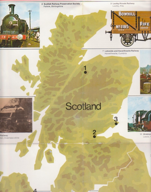 Steam in Britain - Scotland