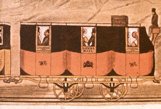 Liverpool And Manchester Railway Mail Coach Edge Hill