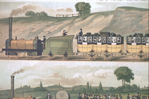 Travelling on the Liverpool and Manchester Railway IV