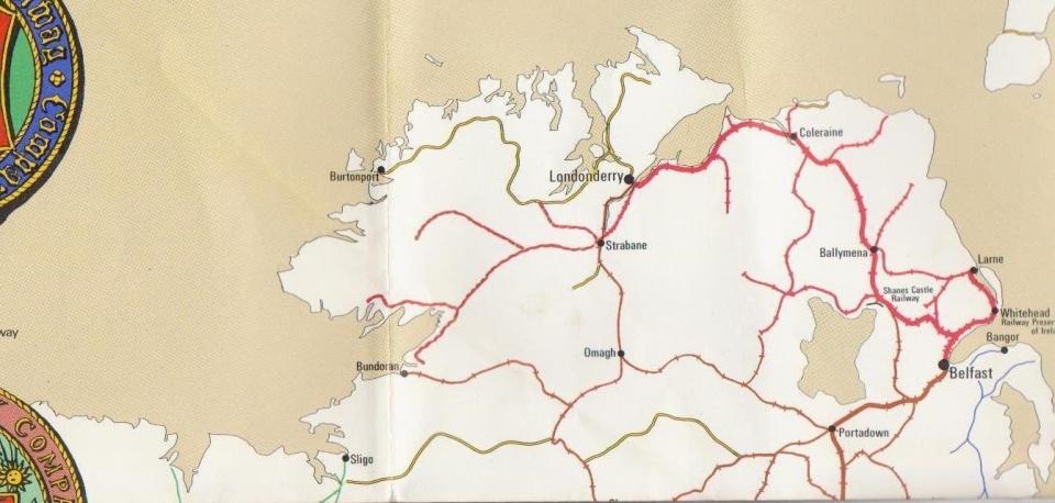 Railway history map of britain northern ireland edge hill station railway history map of britain northern ireland gumiabroncs Images