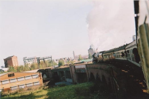 Train entering Manchester II
