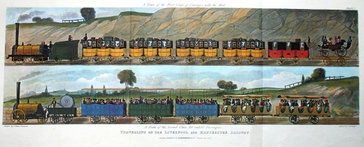 Travelling on the Liverpool and Manchester Railway II