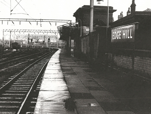 Old view of Edge Hill