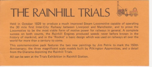 The Rainhill Trials