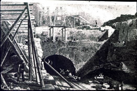 Building the Wapping Tunnel - in the dark