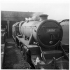 Steam Train at Edge Hill Station May 1968 Engine 45156