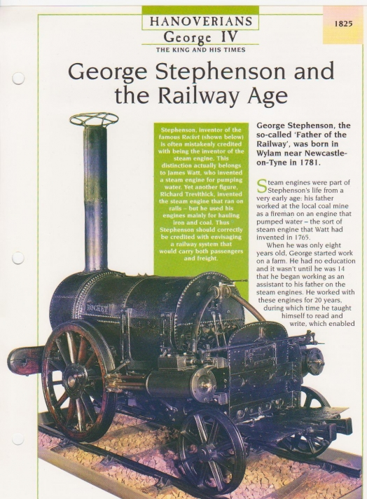 George Stephenson and the Railway Age front